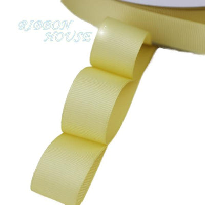 "- (5 meters/lot) 1"" (25mm) Grosgrain Ribbon Wholesale gift wrap Christmas decoration ribbons - Gold  jetcube"