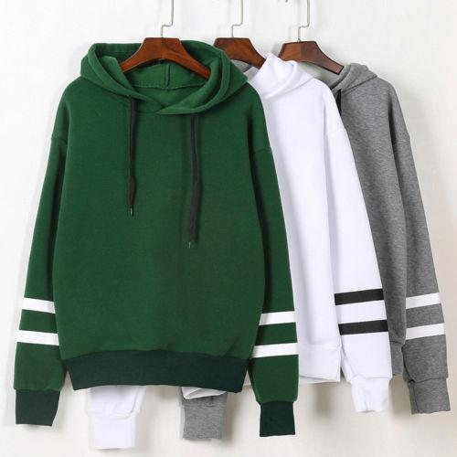 2017 Autumn Sweatshirts Womens Long Sleeve Hoodie Women Sweatshirt Jumper Hooded Pullover Casual Loose Cotton Pullovers