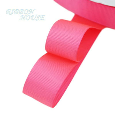 "- (5 meters/lot) 1"" (25mm) Grosgrain Ribbon Wholesale gift wrap Christmas decoration ribbons - Peach Red  jetcube"
