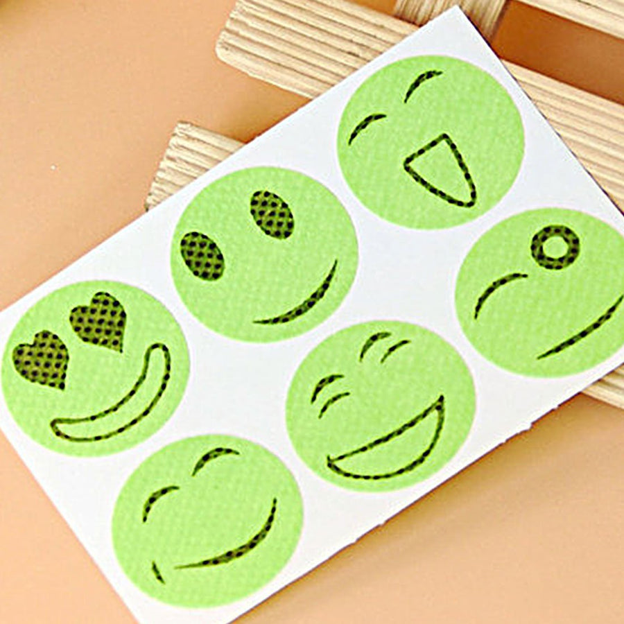 10 Packs Cute Mosquito Repellent Patch Smiling Face Type Drive Midge Mosquito Killer Anti Mosquito Repeller Sticker