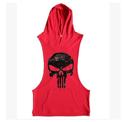 - 2016 Fashion Hoodie Muscle Beach Stringer Hoodies Men Clothing Fitness Sleeveless Sweatshirts Clothes Bodybuilding Hoodies -   jetcube