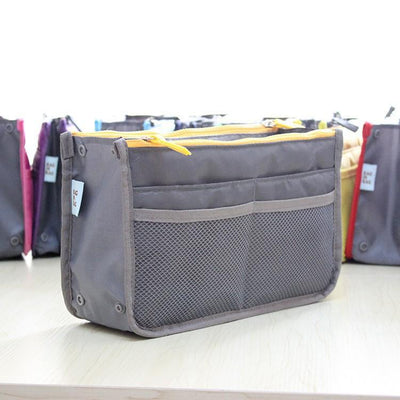 - 1Pc Luxury MultiFunctional Men Women Makeup Organizer Bag Travel Bag Cosmetic Storage Bag in Makeup Handbag Bolsas -   jetcube
