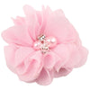 - 2.5 inch Pearl Diamond Headdress Flower Hair Accessories New Born Teens Girl Hairpin Children Fashion Elastic Hairclip Hairbow - 8  jetcube