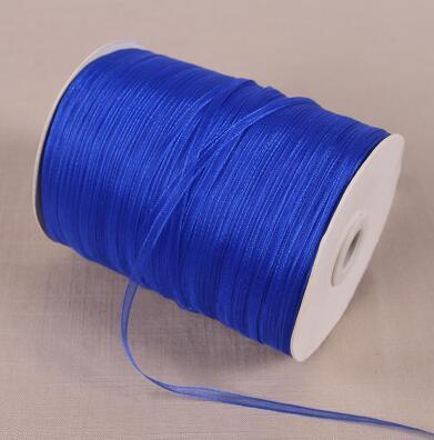- 10 Meters\lot 3 mm Width Chiffon Ribbon For Wedding Party Decoration Christmas Gift Wrapping Packing Transparent Organza Ribbons -   jetcube
