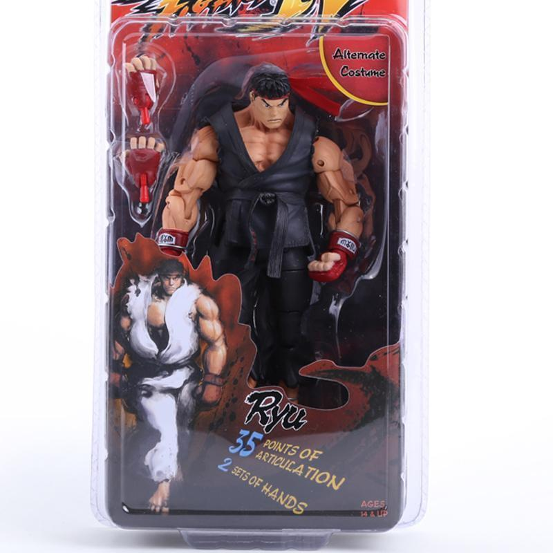 3 Styles Selectable Street Fighter IV Toy Figures Ken Ryu