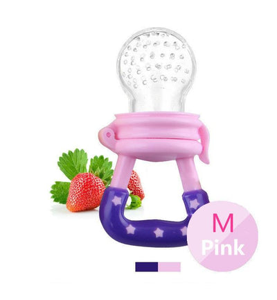 - 1 PIECE Baby Teethers Natural Silicone Gloves Teether Chewable Nursing Beads Child Give Up Sucking Fingers - Pink M  jetcube