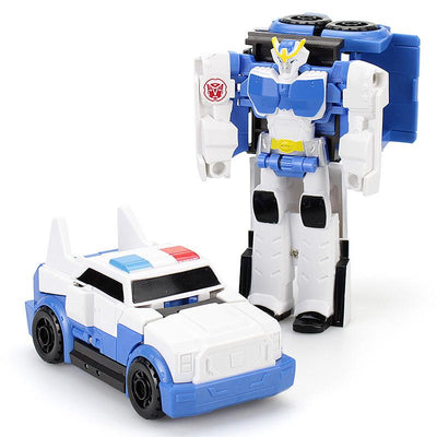 - 12CM Mini Pocket Funny Transformation Toys Deformation Cars Animals Robots Model Bumble Bee / Dinosaur Children Toys - C  jetcube