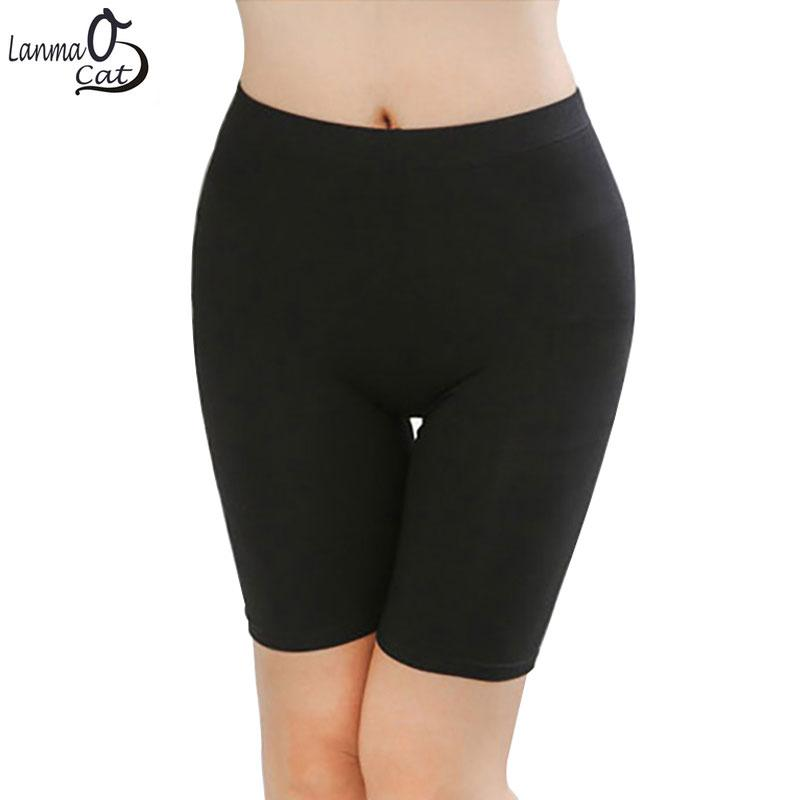 Hot Sale Knee-Length Summer Short Leggings Under Skirts For Women Made of Comfortable Lightweight Bamboo Fabric 3 Sizes
