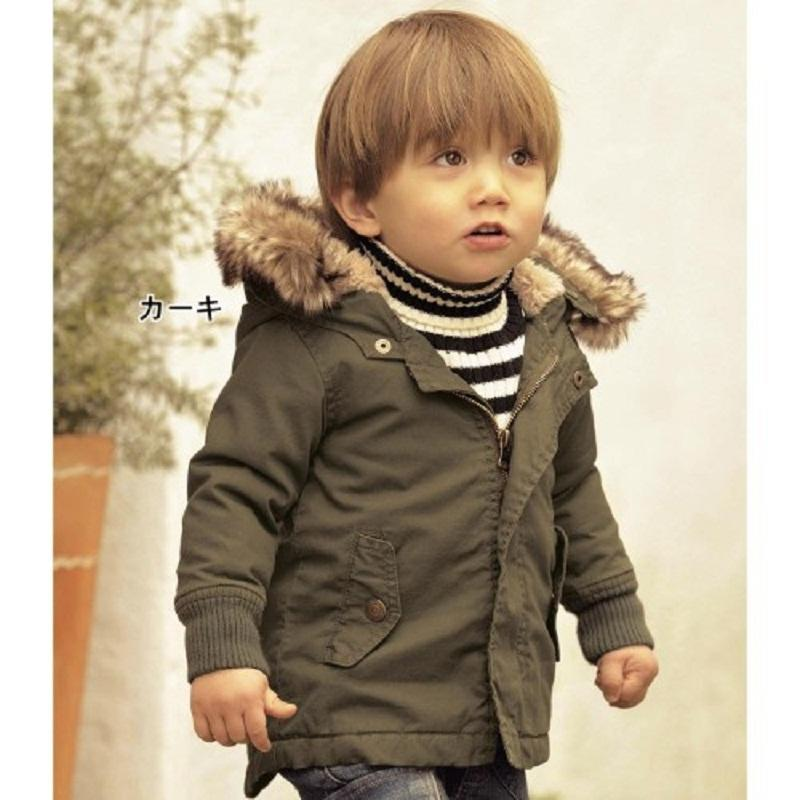 Retail 2017 New Arrive Boys Fashion Cotton Padded Clothes Boys Warm Coat With Hooded Kids Winter Jacket BC010