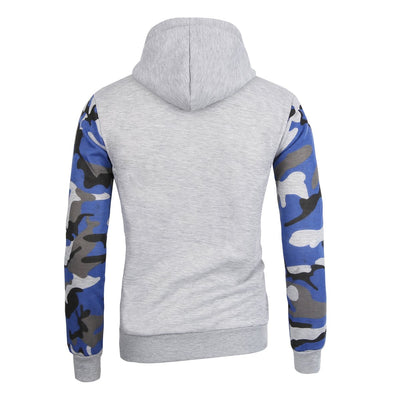 - 2016 Fashion New Hoodies Men Military Camouflage Hoodie Sweatshirt Slim Fit Style Brand-clothing Plus Size S-2XL -   jetcube
