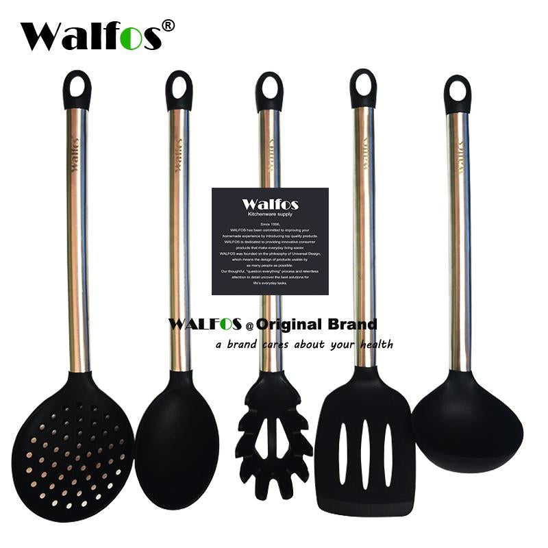 WALFOS 100% FOOD GRADE silicone cooking spoon soup ladle-egg spatula on kitchen spoons, kitchen dishes, kitchen tables, kitchen shower, kitchen cabinets, kitchen design, kitchen appliances, kitchen equipment, kitchen tools, kitchen backsplash, kitchen cutlery, kitchen pans, kitchen items, kitchen clipart, kitchen supplies, kitchen cutting boards, kitchen stuff, kitchen accessories, kitchen food, kitchen pots,