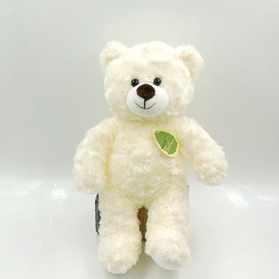 - (1 piece) 30cm Small Cute Teddy Bears Stuffed Animals Soft Plush Toys White Beige Brown Hold Bears Bow/Necklace Randomly Deliver - creamy white 18cm / full 30cm  jetcube