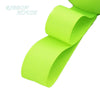 "- (5 meters/lot) 1"" (25mm) Grosgrain Ribbon Wholesale gift wrap Christmas decoration ribbons - Fluorescent Green  jetcube"