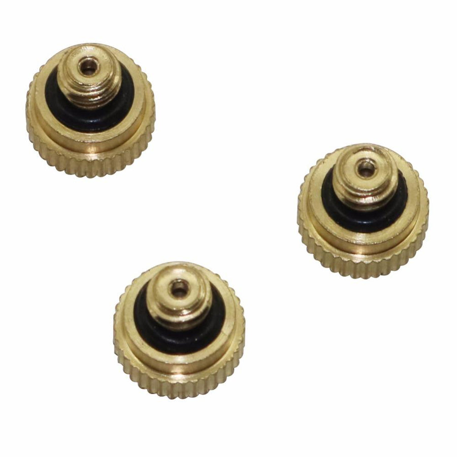 10 Pcs (0.3 mm) Brass Misting Nozzles Spray Misting Greenhouse Flower Plant Garden Misting Fitting For Garden Sprayer