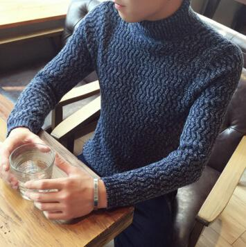 2017 Autumn Casual Sweater turn down collar Slim Fit Knitting Mens Sweaters men's clothing Sweater M-5XL Free shipping  dailytechstudios- upcube