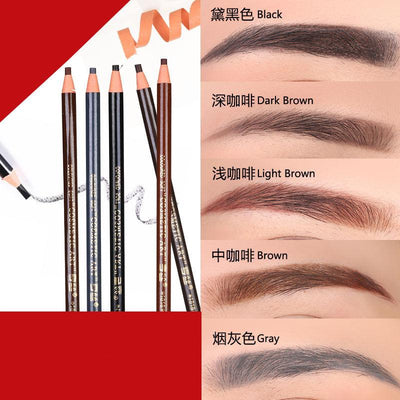 - 12 PCS Waterproof Eyebrow Pencil for Eyebrow Permanent Makeup Tattoo Stereotypes Pen Eyebrow Cosmetic Art -   jetcube