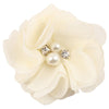 - 2.5 inch Pearl Diamond Headdress Flower Hair Accessories New Born Teens Girl Hairpin Children Fashion Elastic Hairclip Hairbow - 13  jetcube
