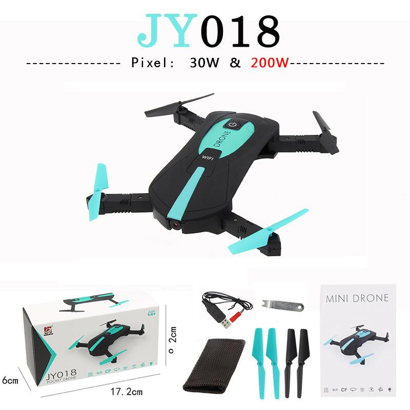 JY018 ELFIE WiFi FPV Quadcopter Mini Headless Model Helicopter with 0.3MP / 2MP Camera HD FPV VS H37 720P RC Quadcopter Parts