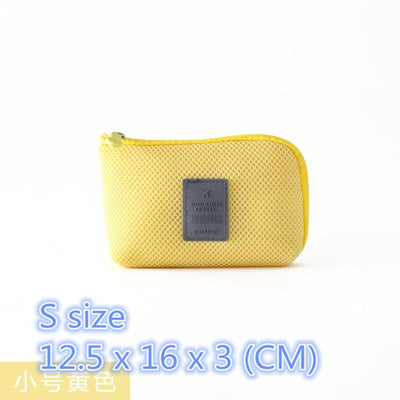 - (1pcs/sell) Shockproof Cotton Womens Travel Cosmetic Bags High Quality Makeup Bag Make Up Bag Neceser Luxury Brand Famous Brands -   jetcube