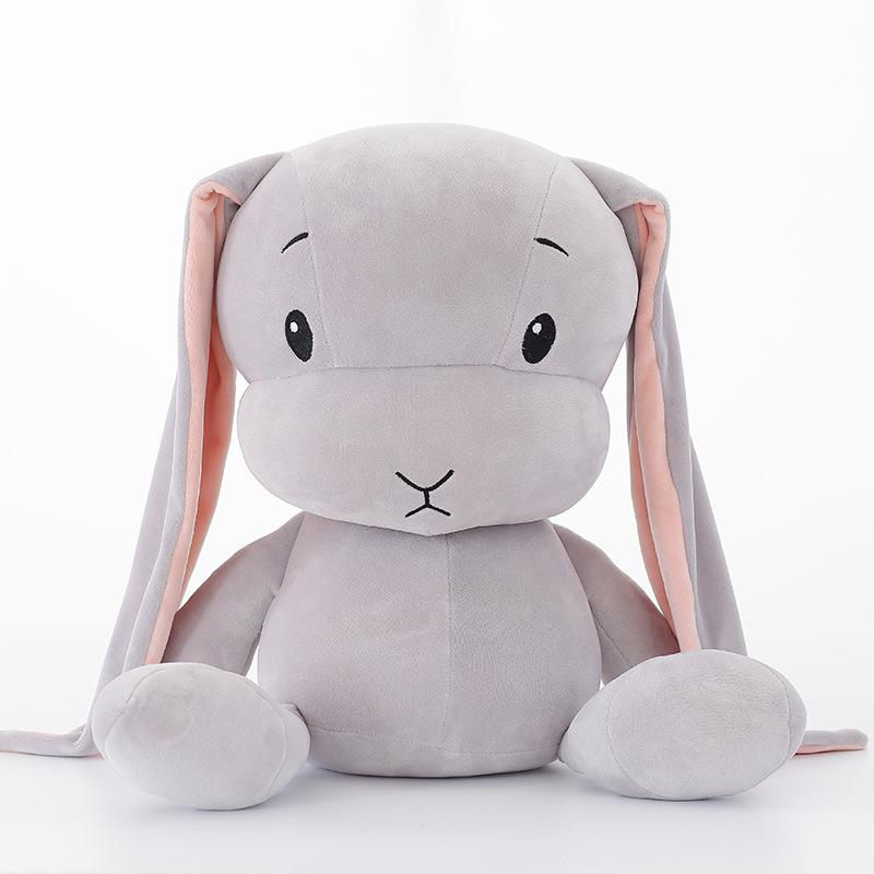 Nooer Lovely Super Soft Rabbit Plush Toys Baby Appease Doll Rabbit Sleeping Doll Best Gift For Kids Children