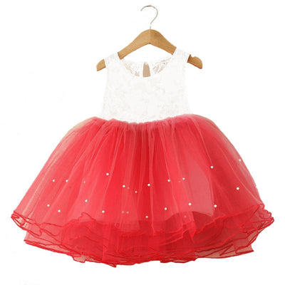 - 2-7Years Summer vestidos infantis Baby Dresses For Girl Party Dress Toddlers Tulle Princess Tutu Baptism Dresses Christmas -   jetcube
