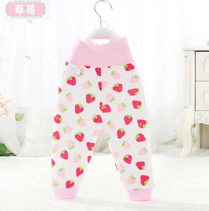 Baby Pants cotton Boys Pants with cartoon print knitted toddler girl Leggings elastic waist busha pp pant trousers baby clothes  UpCube- upcube