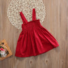 - 0-3Y Children Baby Girl Dress Clothing Party Gown Mini Red Formal Big Bow Backless Princess Gown Dress 2017 New for Girl -   jetcube