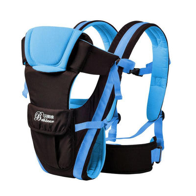 - 0-24M Breathable Multifunctional Front Facing Baby Carrier Adjustable Newborn Sling Portable Backpack Pouch kid carriage wrap - 1 / OneSize  jetcube