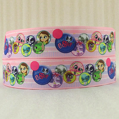 "- (5yds per roll) 1""(25MM) cartoon high quality printed polyester ribbon 5 yards,DIY handmade materials,wedding gift wrap,5Yc1155 - 2014945001  jetcube"