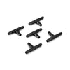 - 100pcs Irrigation Ploy Tee Pipe Barb Hose Fitting Joiner Drip System -   jetcube