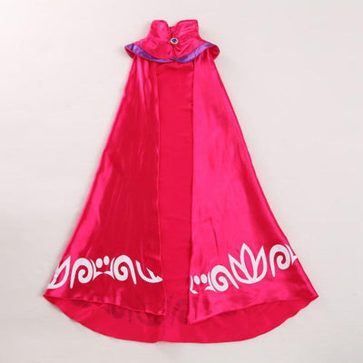 - 2-15T New Elsa Cape for Girl Dress Queen Coronation Children Cloak Cartoon Movie Cosplay Costume Baby Kids 2015 Brand Halloween - Cape Only / 10  jetcube