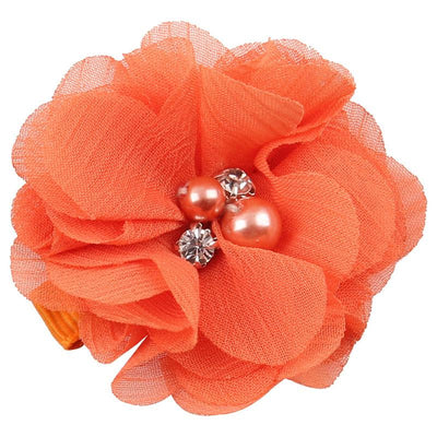 - 2.5 inch Pearl Diamond Headdress Flower Hair Accessories New Born Teens Girl Hairpin Children Fashion Elastic Hairclip Hairbow - 7  jetcube