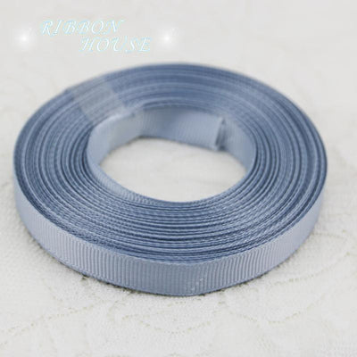 "- (10 meters/roll) 3/8"" 10mm Silver Gray Grosgrain Ribbon Wholesale gift wrap decoration ribbons -   jetcube"