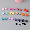 - 10 pcs New Fashion Baby Girls Small Hair Claw Cute Candy Color flower Hair Jaw Clip Children Hairpin Hair Accessories Wholesale -   jetcube