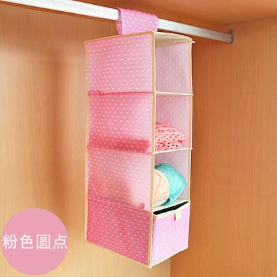 - 1 set High quality Foldable Multifunction Wardrobe hanging storage bag with drawer multilayer home decor,Free shipping. -   jetcube