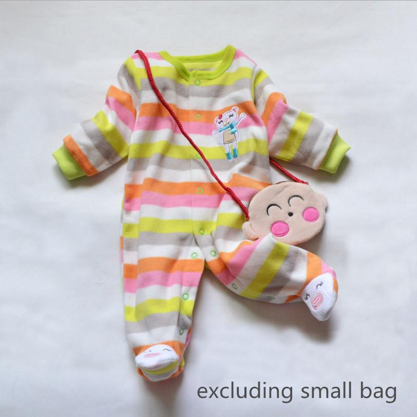 - 0-12M Autumn Fleece Baby Rompers Cute Pink Baby Girl Boy Clothing Infant Baby Girl Clothes Jumpsuits Footed Coverall V20C - MKBCROBY001P16 / 12M  jetcube