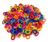 - 100 Pcs Rubber Band Gum Hair For Girls Baby Black White Hair Band Colorful Child Kids Hair Holders Elastic Hair Accessories -   jetcube