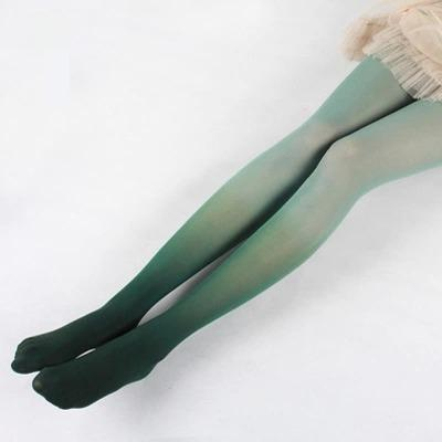 - 10 Colors.Women's Tights Gradient color Silk Stockings.Ladies Lolita Candy Color Velvet Pantyhose Female Party Hosiery -   jetcube