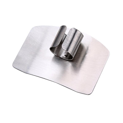 - 18/8 Stainless Steel Finger Hand Protector Kitchen Cooking Tools Guard Knife Cutting Finger Protection Tools -   jetcube