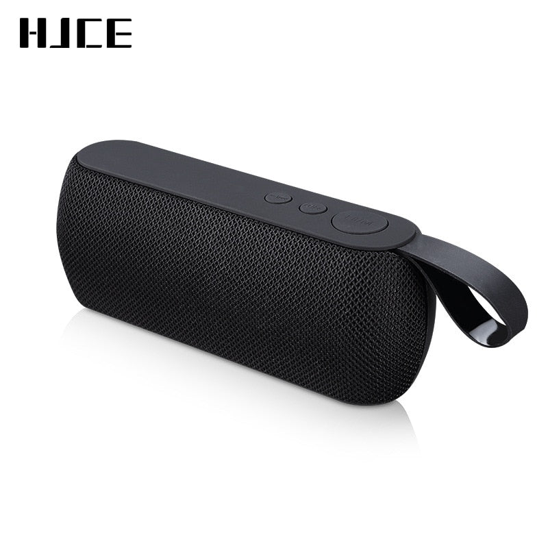 HJCE Portable Bluetooth Speaker Wireless Loudspeaker Sound System 3D Stereo Column Outdoor Speaker Support TF Card FM Aux Input