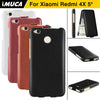 IMUCA For xiaomi redmi 4x Cases Cover PU Leather Flip for xiaome redmi 4x Samartcase Capa Coque Fundas Carcasa waterproof cases