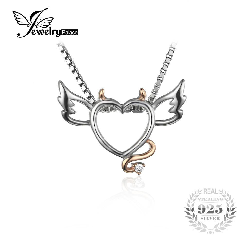 Jewelrypalace lovely wing angel heart pendant fashion gift 925 jewelrypalace lovely wing angel heart pendant fashion gift 925 sterling silver jewelry cute present for girl aloadofball Choice Image