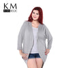 Kissmilk 2017 Plus Size Summer Women Loose Big Size Kimono Cardigan Blouse 3XL 4XL 5XL 6XL