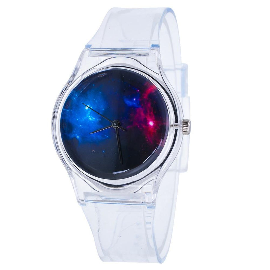 Korean Style Transparent Kids Watches Lovely Watch Children Students Watch Girls Watch Watches Hot Levert Dropship A82