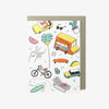 WS Stationery - #5709 - LA Stuff Card -   jetcube