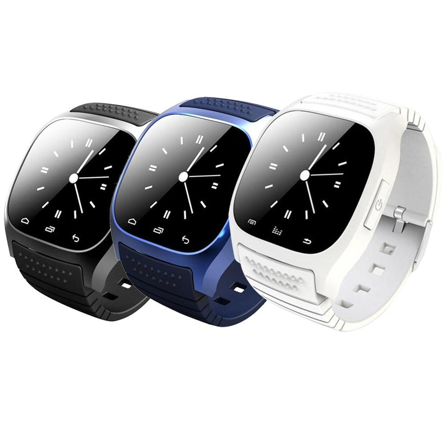M26 Bluetooth V4.0 Luxury Wrist SmartWatch Phone Mate With SMS Remind Pedometer For iPhone Android IOS for Samsung Smartphones