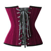 MOONIGHT 2017 New Velvet Sexy Lingerie Slimming Party Corsets And Bustiers Women Corselet Gothic Style Corset Overbust