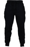 Mens Black Pants Cotton Active Urban Harem Slim Fit Elastic Hip hop Pant High Waist Dance Trousers
