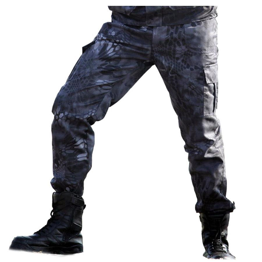 955b89583b0a3 Military Black Python Combat Army Cargo Pants High Quality Working Harem  Pant Mens Tactical Men Jogger