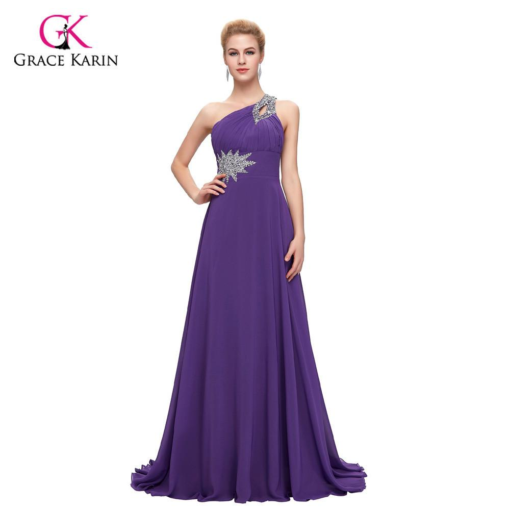 3d4f9f120a35 Modest Cheap Bridesmaid Dresses under 50, Chiffon One Shoulder Pink Purple  Mint Green Red Long